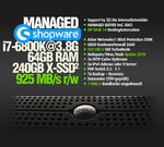 MANAGED.SHOPWARE, i7-6800K, 500GB SSD, 64GB RAM DDR4, APCu, PageSpeed, OPcache, memcache, Redis, HHVM, HTTP/2, ElasticSearch